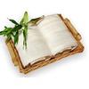 bambusová osuška 100x150 cm krémová