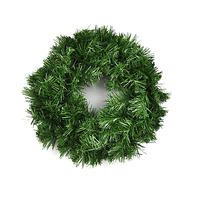 Zelený věnec 25 cm