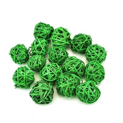 Koule dekorační LATA BALL zelené 3 cm