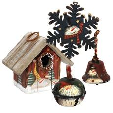 Dřevěné, kovové dekorace