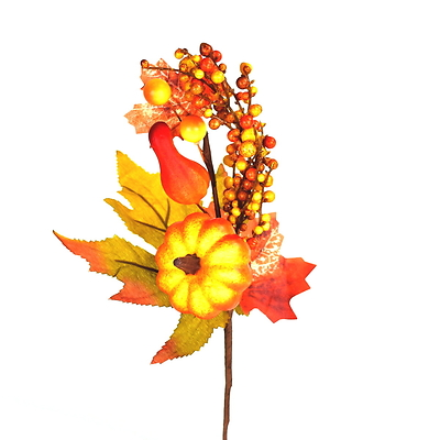 Větvička podzimní zdobená