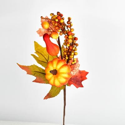 Větev podzimní zdobená