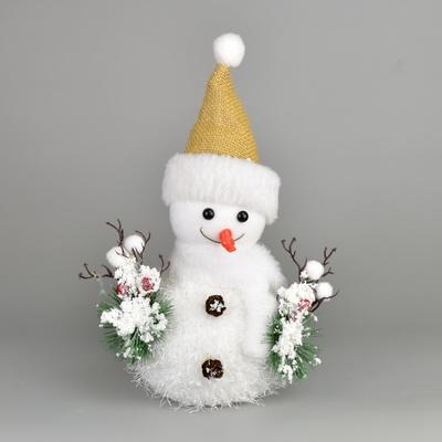 Sněhulák s čepicí