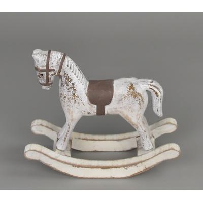 Kůň dřevěný houpací