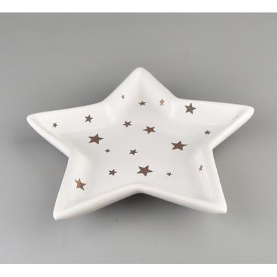Miska hvězda keramická