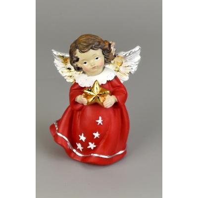 Anděl stojící polystone