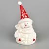 Sněhulák keramický s LED osvětlením