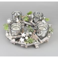 Kolekce bílo-stříbrná