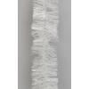 Vánoční řetěz bílý 10cm x 2,7m
