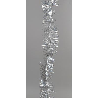 Vánoční řetěz stříbrný - 2,7 m