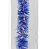 Vánoční řetěz s duhovým efektem modrý