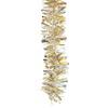 Vánoční řetěz champagne  9cm x 2m