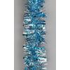 Vánoční řetěz modrý 9cm x 2m
