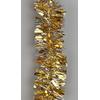 Vánoční řetěz zlatý 9cm x 2m
