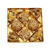 Slaměné ozdoby se zlatým dekorem, 31 ozdob