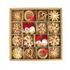 Slaměné vánoční ozdoby, 56 ozdob