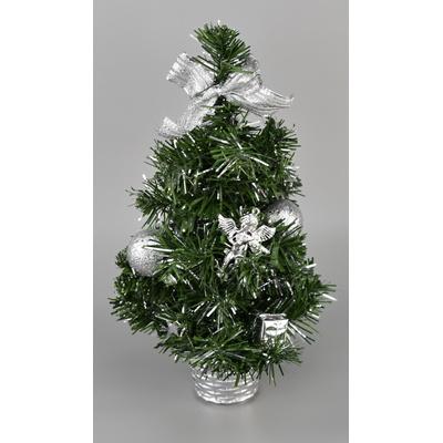 Stromeček stříbrný - 30 cm
