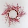 Věneček třpytivý růžový