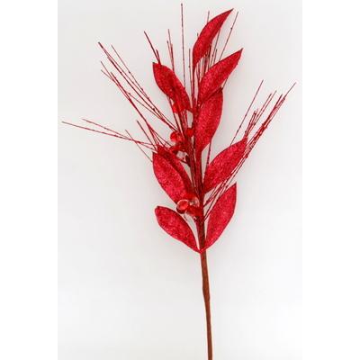 Větvička třpytivá červená