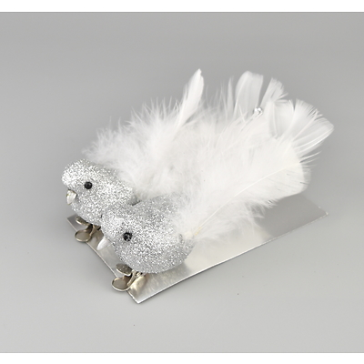 Ptáček třpytivý set  2 ks