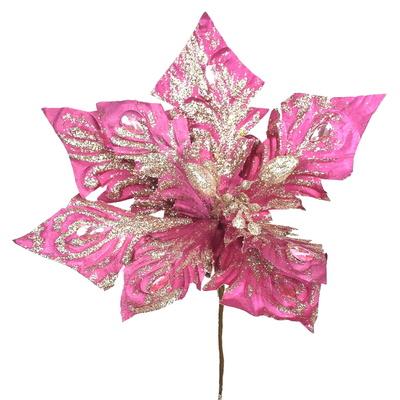 Poinsetie třpytivá - růžová