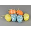 Velikonoční malovaná vajíčka střední 6 ks