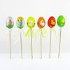 Velikonoční malovaná vajíčka zápich 6 ks