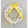 Velikonoční věneček závěsný ratanový