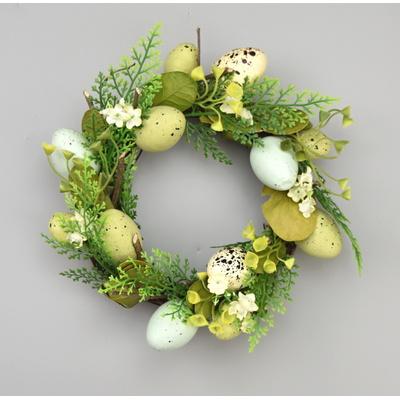 Velikonoční proutěný věneček