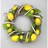 Ratanový věneček s dekorací citrónu